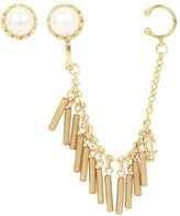 Juicy Couture Winter Palace Pearl Statement Earrings