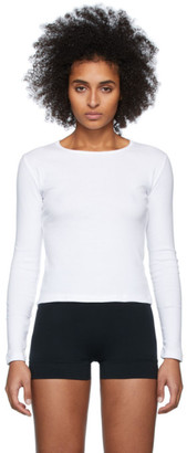 Gil Rodriguez White Bellevue Long Sleeve T-Shirt