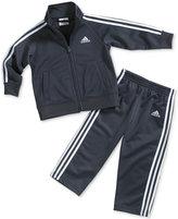 adidas Toddler Boys' 2-Piece Icon Jacket & Pants