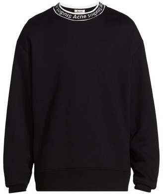 Acne Studios Fulton Logo-Trimmed Sweatshirt
