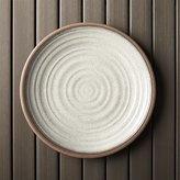 "Crate & Barrel Caprice Stone 10.5"" Melamine Plate"
