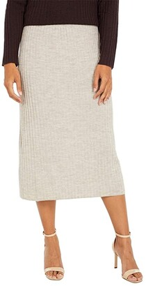 Eileen Fisher Pencil Skirt (Maple Oat) Women's Skirt