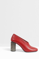 Acne Studios Amy Leather Closed Block Heels