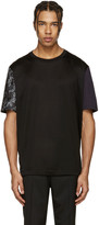 Lanvin Black Koi Sleeve T-Shirt