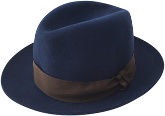 Christy Navy Wool Hats