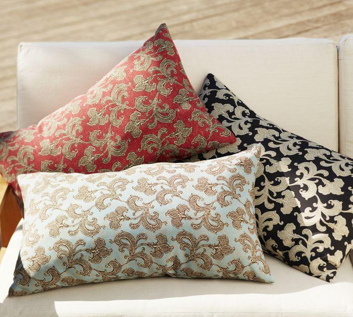 Alden Floral Indoor/Outdoor Lumbar Pillow
