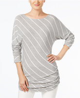 INC International Concepts Striped Tunic, Created for Macy's