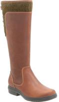 Clarks Women's Tavoy Cedar Waterproof Wide Calf Boot