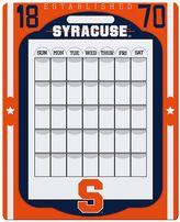 Syracuse Orange Dry Erase Calendar