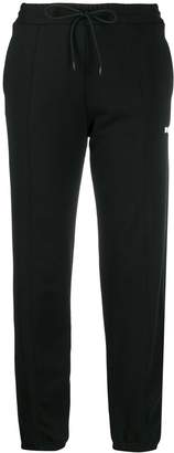 MSGM drawstring logo track trousers