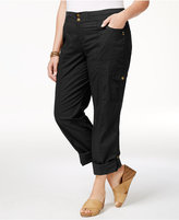 Style&Co. Style & Co Plus Size Convertible Pants, Only at Macy's