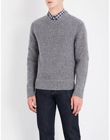 Tom Ford Crewneck Wool And Silk-blend Jumper