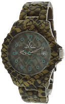 Toy Watch ToyWatch FLE02RE Women'sOlive Green Plasteramic and Dial Reptile Finish