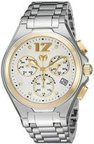 Technomarine Men's Quartz Watch with Silver Dial Chronograph Display and Silver Stainless Steel Bracelet TM-215013