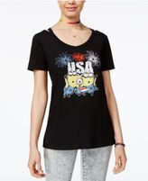 Hybrid Despicable Me Juniors' Minions USA Graphic T-Shirt