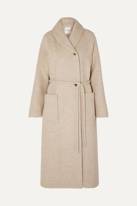 BEIGE Le 17 Septembre LE 17 SEPTEMBRE - Belted Wool-blend Coat