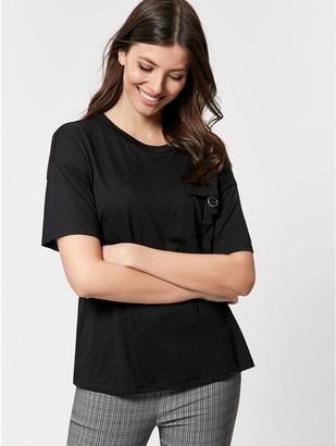 M&Co Utility pocket t-shirt