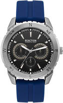 Kenneth Cole Reaction Men's Blue Silicone Strap Watch 46mm