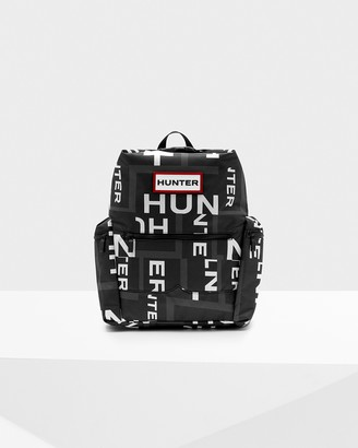 Hunter Original Exploded Logo Top Clip Backpack - Nylon