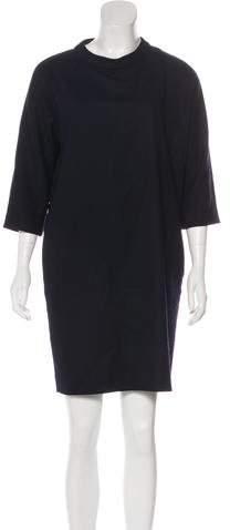 Goat Long Sleeve Mini Dress