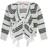 "Pink Angel Little Girls' Toddler ""Fringed Drape"" Cardigan"
