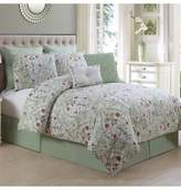 Bed Bath & Beyond Evangeline 8-Piece Queen Comforter Set in Sage