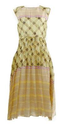 Suno \N Yellow Silk Dresses