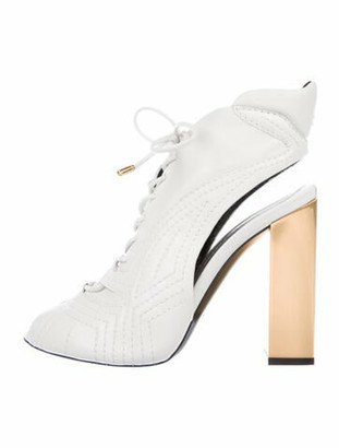 Tom Ford Leather Pumps w/ Tags White