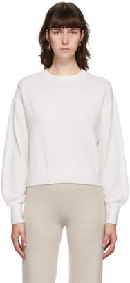 Le Kasha Off-White Cashmere Modena Sweater