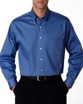 Van Heusen Men's Blended Wrinkle-Free Pinpoint Oxford Shirt
