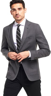 Todd Snyder Black Label Made in the USA Sutton Unconstructed Sport Coat in Grey