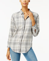Calvin Klein Jeans Plaid Cotton Shirt