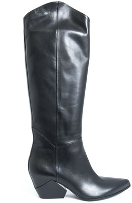 Elena Iachi High Boots In Black Leather