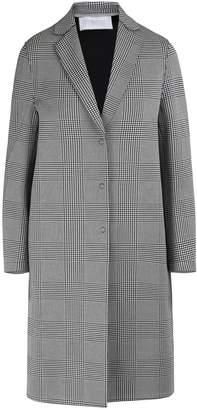 Harris Wharf London Glen plaid cotton coat