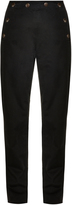 Tomas Maier Straight-leg weathered cotton trousers