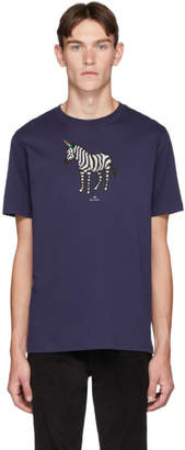 Paul Smith SSENSE Exclusive Purple Uni Zebra T-Shirt