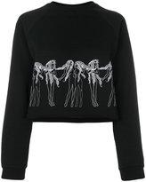 Giamba embroidered sweatshirt