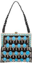 Valentino Satin Embellished Bag