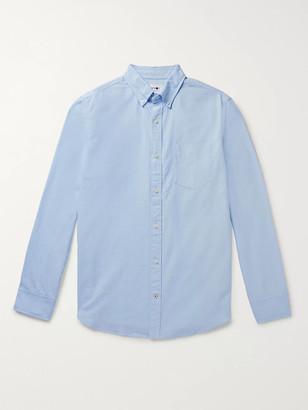 NN07 Levon Button-Down Collar Cotton Oxford Shirt