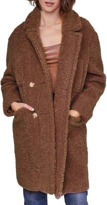 ASTR the Label Freddie Faux Fur Coat