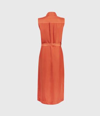 AllSaints Esthie Silk Dress