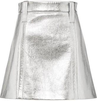 Prada A-line mini skirt