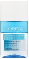 L'Oreal L Oreal Paris Absolute Make-Up Remover Eye & Lip 125ml