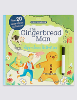 Marks and Spencer The Gingerbread Man Wipe-Clean Book