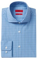 HUGO BOSS Meli Plaid Sharp Fit Dress Shirt