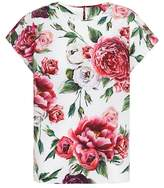 Dolce & Gabbana Floral cotton top