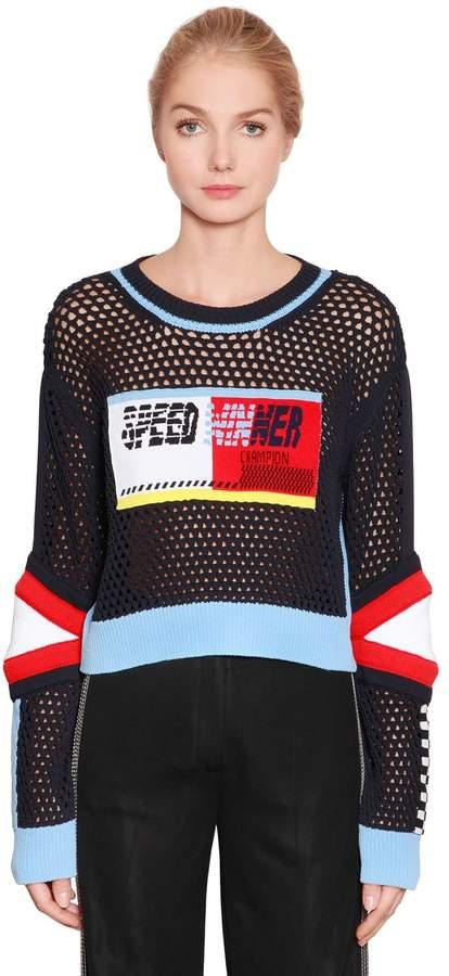 cb9622bd61 Tommy Hilfiger Blue Rib Knit Knitwear For Women - ShopStyle UK