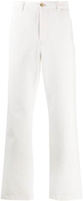 Acne Studios High-Waist Straight-Leg Jeans