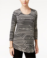 JM Collection Striped Top, Only at Macy's