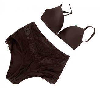 Zimmermann Grey Lace Swimwear